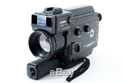 Near MINT ELMO Super 8 Sound 2600AF MACRO 8mm Movie Camera Tested From Japan