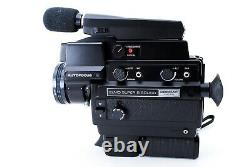 Near MINT in BOX Elmo Super 8 Sound 3000AF MACRO Movie Camera from Japan