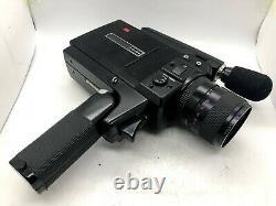 Near MINTELMO SUPER 8 SOUND 612S-XL MACRO Super 8 Movie Film Camera From JAPAN