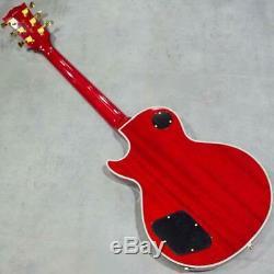 New Crews Maniac Sound KTR LC-02 CS Electric Guitar From Japan
