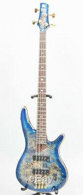 New Ibanez SR2600-CBB (Cerulean Blue Burst) sound Rare Bass Guitar from japan