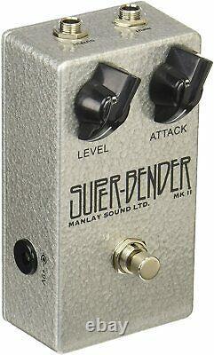 New Manlay Sound Fuzz Tone Bender Guitar Effector Super Bend Effector From Japan