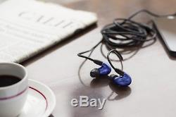 New! SHURE SE846 Sound Isolating Earphones SE846BLU-A Blue from Japan Import