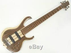 NewIbanez BTB746(NTL) 6 string electric bass guitar from japan sound rare