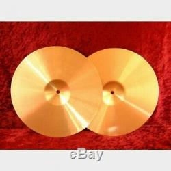 PAiSTe 900 Series Color Sound Purple Hi-Hat 14 inch Drum Cymabal from Japan