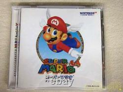 PONY CANYON Super Mario 64 Original Sound Track CD Music From Japan