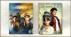 PS4 Shenmue I & II First Limited Edition withSound Collection CD NEW from Japan
