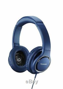 Panasonic Sealed Headphone Hi-Res Sound RP-HD5-A Blue from Japan New