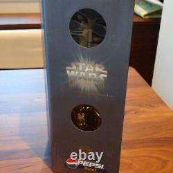 Pepsi Star Wars Sound Big Cap Set R2-D2 & C-3PO from Japan Free Shipping