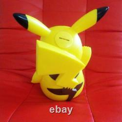 Pokemon Pikachu Piggy Bank w Sound Campaign Prize Battery Operated From Japan