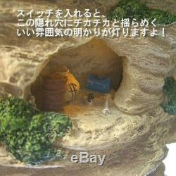 Porco Rosso Light up Sound Diorama Porco Hideout Studio Ghibli from Japan