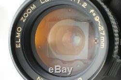 REAR! EXC+++ELMO Super 8 Sound 350 SL Macro 8mm Movie Camera From Japan #346