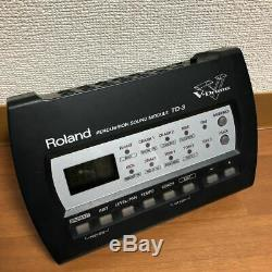 ROLAND TD-3 Drum Module Electronic Percussion Sound Brain from Japan
