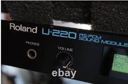 ROLAND U-220 Rackmount Sound Module From Japan Used