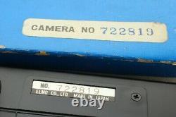 Rare Box Elmo Super 8 Sound 6000af Macro 8mm Film Movie Camera Cine From Japan