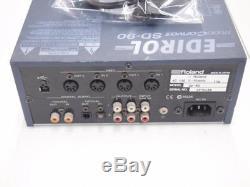 Roland Edirol SD-90 Studio Canvas MIDI Sound Module Used Working