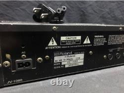 Roland JV-1080 Expanded 64-Voice Sound Module Rack Synthesizer From Japan Used