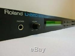 Roland MIDI PCM sound module U-220 from Japan