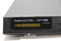 Roland MT-32 Multi Timbre MIDI LA Sound Module Late Model From Japan