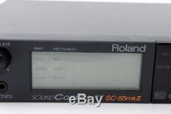 Roland SC-55 MK ii Sound Canvas GS MIDI sound module From Japan Exc+ #11293A