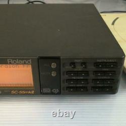 Roland SC-55mkII 55mk2 MIDI sound source module 100-240V working item From Japan