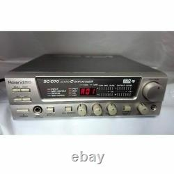 Roland SC-D70 MIDI Sound Canvas module AC100V USED Tested Working from Japan