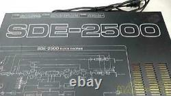 Roland SDE-2500 High Sound Quality Thick Egui Digital Excellent From Tokyo Japan