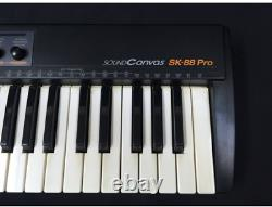 Roland SK-88Pro SOUND CANVAS 37-key Keyboard Synthesizer From Japan Used