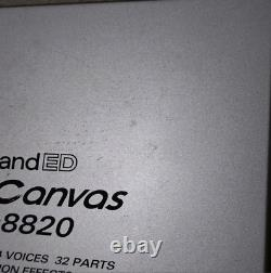Roland Sound Canvas SC-8820 Modular Synthesizer From Japan Used