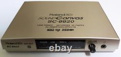 Roland Sound Canvas SC-8820 Sound Source Module From Japan Used