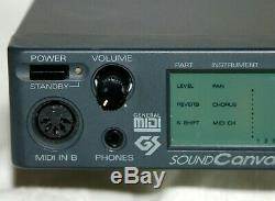 Roland Sound Canvas SC-88VL From Japan Free Shipping #002
