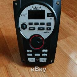 Roland TD-11 Drum Sound Module V-Drum withPower cable Mount from Japan USED