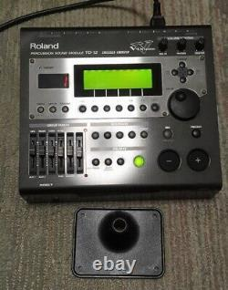 Roland TD-12 V-Drums Electronic Drum Sound Module from JAPAN Fedex Express