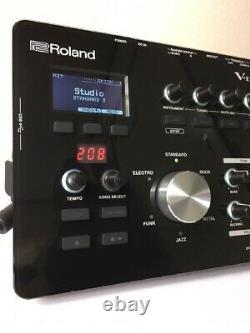 Roland TD-25 V-Drum Electric Sound Module Set Black F/S From Japan