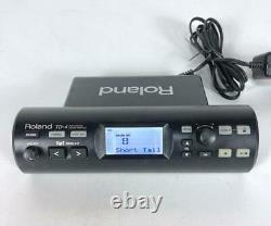 Roland TD-4 V-drums Sound Module Electric Used Good Condition F/S From Japan