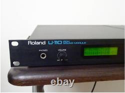 Roland U-110 PCM Sound Module From Japan Used