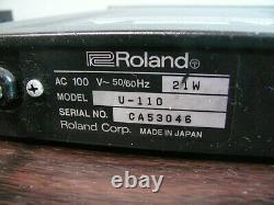 Roland U-110 Rack Mount PCM Synth Sound Module from japan