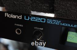 Roland U-220 RS PCM sound module From Japan Used