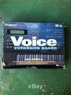 Roland VE-GS PRO Voice Expansion Board From SC-88 Pro Sound Module GSPRO