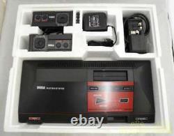 SEGA MASTER SYSTEM Console System FM Sound MK-2000 From JAPAN 02