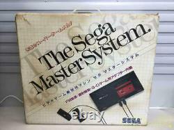 SEGA MASTER SYSTEM Console System FM Sound MK-2000 From JAPAN 240821