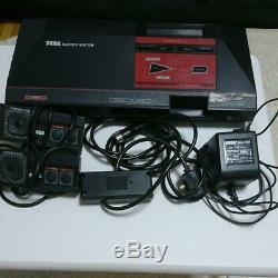 SEGA MASTER SYSTEM Console System FM Sound Tested From Japan
