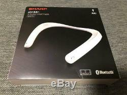 SHARP AN-SS1-W White AQUOS Sound Partner Neck Band Speaker From JAPAN Used