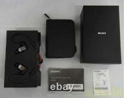 SONY XBA-H3 Canal Earphones hi-res sound source corresponding remot From JAPAN