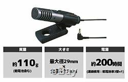 SONY condenser microphone stereo / for sound pickup stand ECM-MS907 From JAPAN