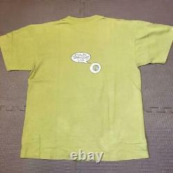 SOUND GARDEN anvil T-Shirt Pushead Olive Green Men L 1994 Vintage From Japan