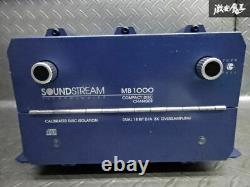 SOUND STREAM MB1000 7CD changer main unit only car audio stereo From Japan F/S