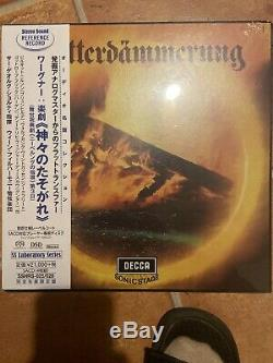 Solti Wagner Gotterdammerung 4 SACD LP size package STEREO SOUND From Japan NEW
