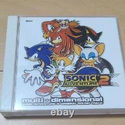Sonic Adventure 2 Original Sound Track Multi Dimensional Used From Japan