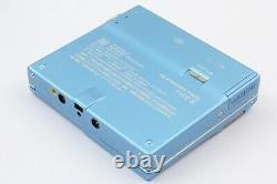 Sony MD WALKMAN MZ-N910 MiniDisc Recorder/Player Blue Sound Great From JAPAN#686
